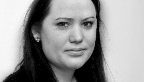 Journalist Malin Lystad.