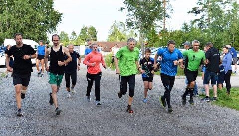 GODT OPPMØTE: 52 løpere gjennomførte Torsdagsløpet denne uken.