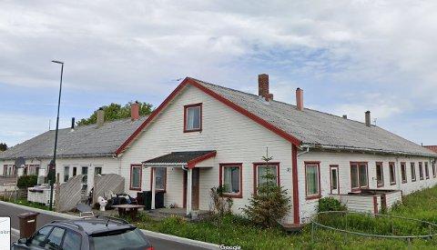 På denne tomten i Joavegen skal det fortettes med opptil ni boliger.