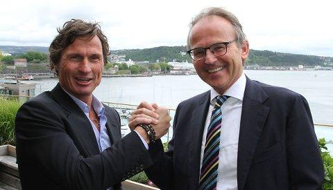 KJØPER OG SELGER: Marcel Kokeel, administrerende direktør i finske Citycon, skal lokke kjøpere med digitale kampanjer.