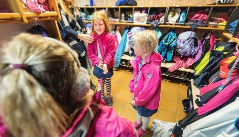 Ap foreslår å redusere tilskuddssatsen til private barnehager med 85 millioner kroner. Foto: Gorm Kallestad, NTB scanpix/ANB