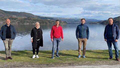 AVLYST: Terje Lia, Trine Bergestig, Terje Bergskås, Tormod Hynne (prosjektleder) og Karl Arne Lia. i Paraveka har nok en gang måttet avlyse arrangementet.