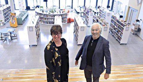 Kjersti Andersen og Egil Holberg inviterer til konsert med Smøla Janitsjar i aulaen på skolen i juni. I oktober plusser de på med Bjarne Brøndbo og kommer til Kristiansund.