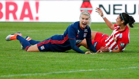Ada Hegerberg garanterer at hun blir i Lyon.