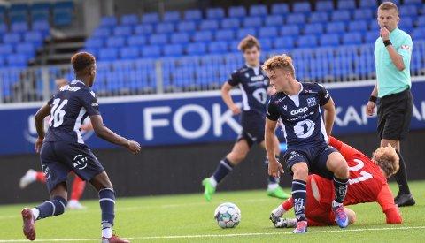 Kristian Holmeide Vangen og KBK 2 spiller fredag hjemme mot Malmefjorden i 4. divisjon.