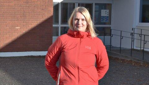– Det er klart at noen kan bli litt skremt, spesielt de minste barna, sier rektor Britt Inger Gaarden ved Dalabrekka skole.