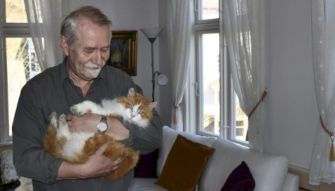 En ny tid starter: Gunleik Rostøl har kost seg i den flotte sveitservillaen i Tvedestrand. Men han satser på at det blir vel så fint i det nye huset han skal flytte til.Foto: Anne Kristine Dehli