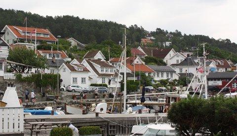 Båthavna i Drøbak.