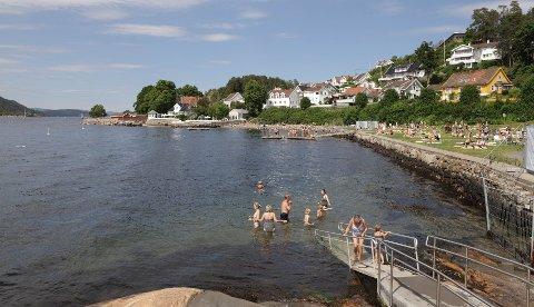 med innenlandsturisme og hjemmeferie for mange, kan det bli ekstra fullt i Badeparken i sommer.