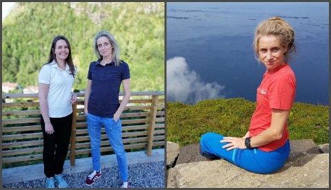 Solveig Hjertaas (t.v) og Maria Halvorsen (t.h) skal no drifte Lindås kiropraktorklinikk saman.