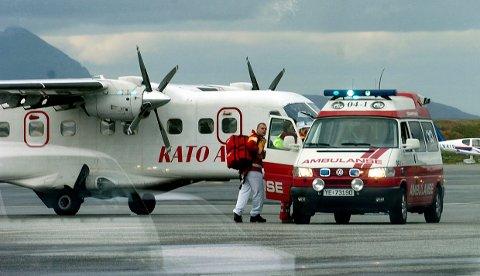 Passasjer gikk berserk med øks ombord i fly til Kato Air.