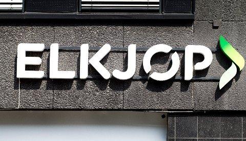 Elkjøp er Norges største elektronikkjede, og blir igjen forsøkt brukt av svindlere. Foto: Gorm Kallestad (NTB scanpix)