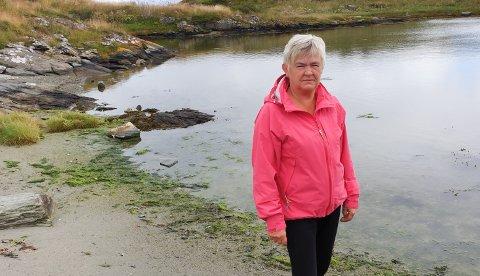 Vemmelig syn: Grethe Bodil Meling syntes lite om det hun så da hun tok med barnebarna til Sandrenna.