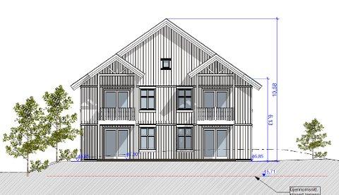 TIL FYLKESMANNEN: Saken om det planlaget bygget i Lilleåsgata blir sendt til Fylkesmannen i Oslo og Viken for endelig avgjørelse.