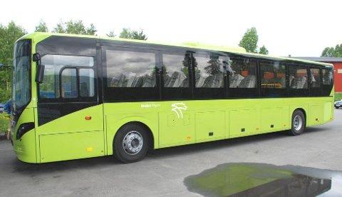 STREIKEFARE: Bussene også i Midtfylket kan bli parkert fra søndag av, hvis det ikke blir enighet i lønnsoppgjøret.