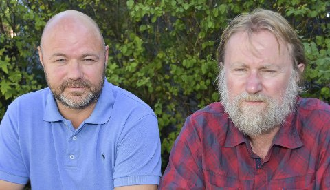 MYE Å STÅ I: Knut Anders Laag (t.v.) og Anders Stenshorne har mange byggekonflikter å ordne opp i.