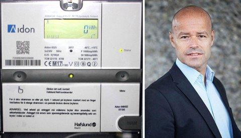 AMS-MÅLER: NVEs kommunikasjonsdirektør Kjetil Hillestad forteller hvordan strømregningen vil endre seg med de nye AMS-målerne.