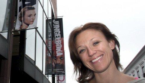 Heidi Gjermundsen Broch møter mange skarpskodde artister i høstens utgave av Stjernekamp. Her er Heidi fotografert utenfor Det Norske Teatret. Arkivfoto: Svein Kristiansen