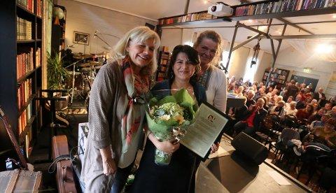 Gunel Movlud ble torsdag kveld overrakt  litteraturfestivalen Ord i Grenseland 2017.