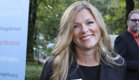 Oslo  20000101. Aschehoug forlag arrangerte sitt årlige hageselskap. Martine Aurdal var en av gjestene.