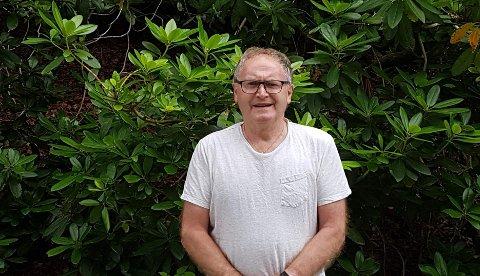 """Einar Reime fant inspirasjon i den aldri så lille """"brevsagaen"""" mellom Leif Reiestad og Hå kommune."""
