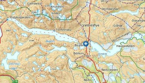 Bygdin Fjellhotell ligger ved vannet Bygdin, inntil Valdresflye nord for Beitostølen.
