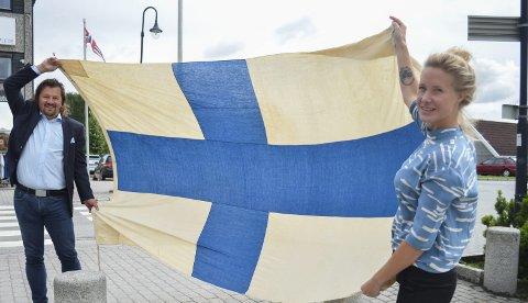 SAMARBEIDER: Rune Meier og Maja Leonradsen Musum inviterer til samtale og boksignering med finske Sanna Sarromaa 18. august.