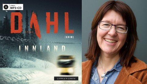 ANBEFALES: Biblioteksjef Wenche Nyaas anbefaler Arne Dahls «Innland».  Oversatt av Einar Blomgren. Lydbok utgitt på Cappelen Damm i 2018.