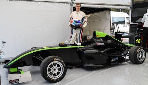 Ny klasse: Lars Solheim kjører nå i Formula STCC Nordic