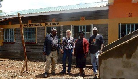 Folgefonna future: Den nye bygningen sørger for at jentene på barneheimen kan sova utan at det lek vatn på dei, og dei har fått betre hygieniske forhold.
