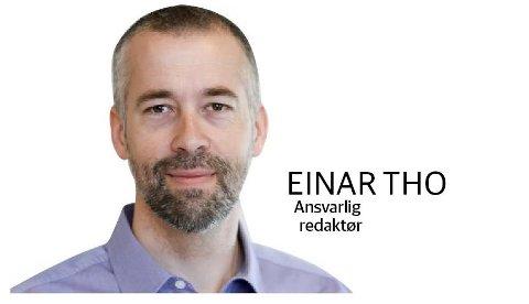 Ansvarlig redaktør Einar Tho.