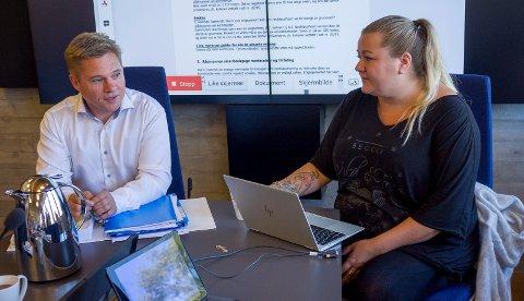 LA FRAM FUNN: Alexander Schønemann og Ragnhild Hobberstad utgjør ekspertutvalget som gransker barnevernet i Tysvær.
