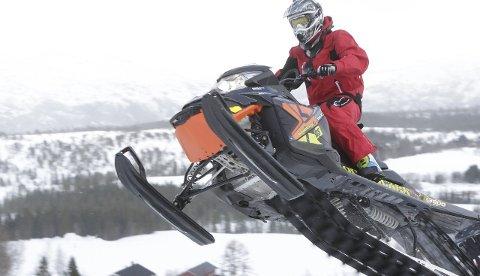 Full fart: Mosjøen Hillclimb sist lørdag ble en fartsfest med flere deltakere enn noen gang. Foto: Per Vikan