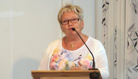 Vil påvirke: May-Anne Brand (H) ønsker å påvirke eget partis stortingsrepresentanter for å beholde Kjærstad og Stokka flyplass. foto: asbjørg sande