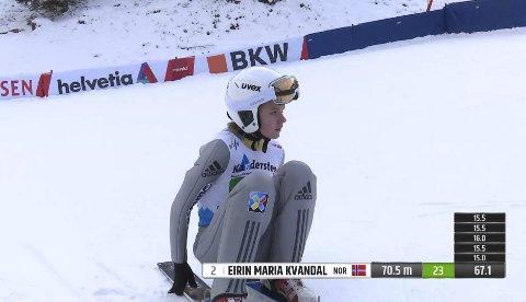 JUNIOR-VM 2018: For to sesonger siden debuterte Eirin fra Mosjøen i internasjonal sammenheng da hun hoppet i junior-VM. Da gikk det ikke spesielt bra, men denne gangen har hun håp om å hevde seg.