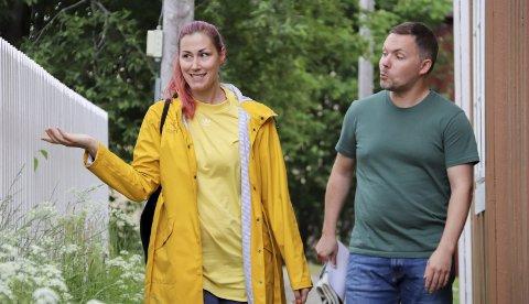 Historie: Avdelingsleder Katrine Remmen Wiken og formidlingsleder Tor-Kristian Lindrupsen ser fram til historisk vandring i Nergato og i Sjøgata.