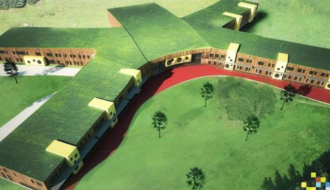 STORSKOLE: Det skal bygges en ny storskole på nøytral grunn i Alta som erstatter Komsa og Bossekop skoler.