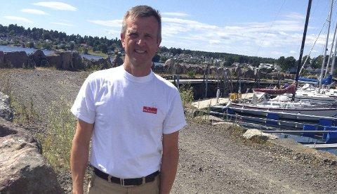 KU-LEDER: Stig Atle Vange leder kontrollutvalget i Holmestrand. Arkivfoto