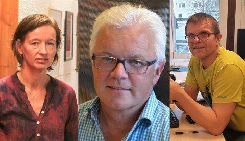 Økonomisjef Line Andreassen, rådmann Kjell Idar Berg og administrativ kontroller Villy Angelsen i Vestvågøy kommune kommenterer alle klagene på eiendomsskatten som er kommet inn.