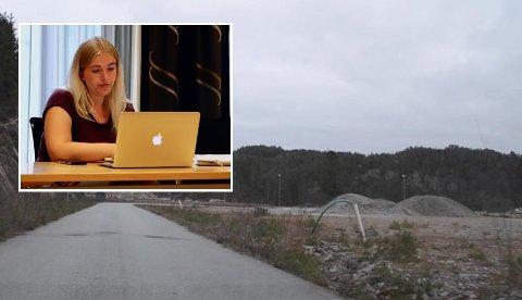 ALENE: Linn Anita Reppen (Frp) ble stående alene da hun foreslo at formannskapet i Kvinesdal skulle si JA til søknaden fra Lyngdal MA crossklubb om å få disponere det ubrukte industriområdet på Opofte til motocrossbane.