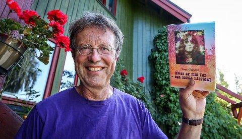 FLOWERPOWER: Arne Øgaard fra Kambo var ung og utforskende under hippietiden på midten av 60-tallet. Nå har han gitt ut bok fra denne spennende tiden: «Hvor er min far – den gamle hippien?».