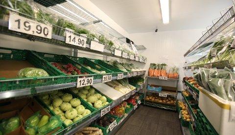 NEDGANG: Prisen på mat sank med 0,4 prosent fra august til september.