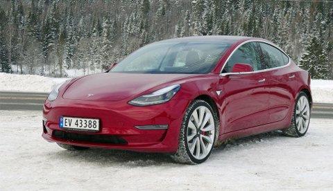 Tesla vil ikke si noe om hvor mange bestillinger de har på Model 3 fra norske kunder, men her det snakk om mange tusen.