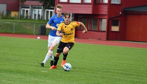 POSTNORD-CUP: Fredrik Wasenius og resten av MFK-spillerne skal bryne seg på Kjelsås førstkommende fredag.