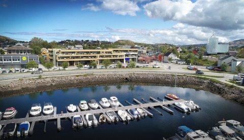 BLIR IKKE NOE AV: Prosjektet «Stokkstranda», som skapte stor interesse på Rørvik, lar seg ikke gjennomføre som det var planlagt. Nå jobber eiendomsselskapet for å finne andre løsninger.