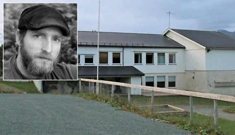 IKKE FORNØYD: Tino Schot i FAU på Malangseidet skole.