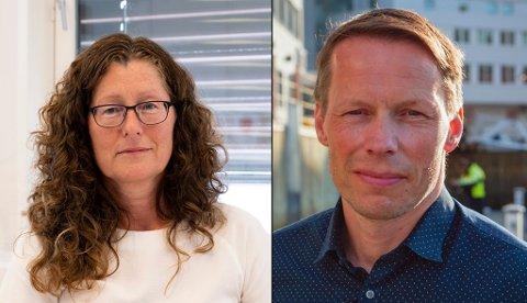 KORONAFRIE: Anita Karlsen (Sp) i Gratangen og Bernt Eirik Isaksen Lyngstad (Ap) i Kåfjord er to ordførere som ikke har hatt koronasmitte i sine kommuner. Foto: Fremover/Ap