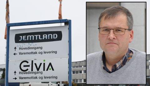 VIL KJEMPE: Even Solhaug Gjøvik Ap vil kjempe for at Gjøvik skal beholde de 15 utflyttingstruede arbeidsplassene ved Elvia i Thomasdalen.