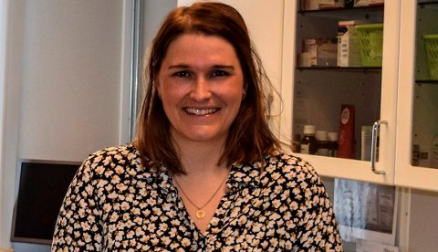 FORNØYD: – Vi har vært heldige med rekrutteringen av nye fastleger, sier Hege Kathinka Trætteberg, enhetsleder helse og mestring i Østre Toten kommune.