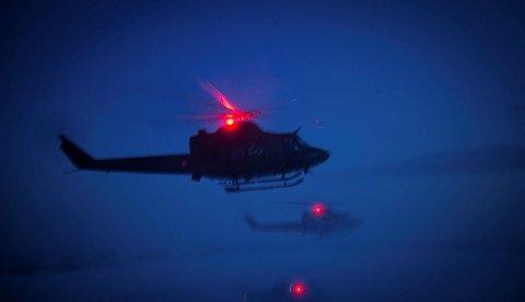 ØVELSE: Forsvaret går i gang med øvingsaktiviteter rundt Oslofjorden i kveld og natt. I forbindelse med dette vil helikoptere og flares være synlige på himmelen.